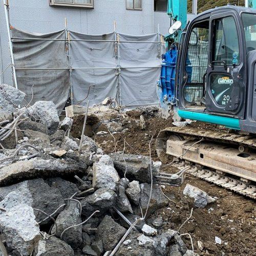 静岡市,RC住宅解体工事