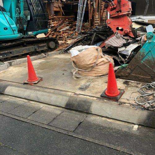 静岡県静岡市清水区.木造解体工事