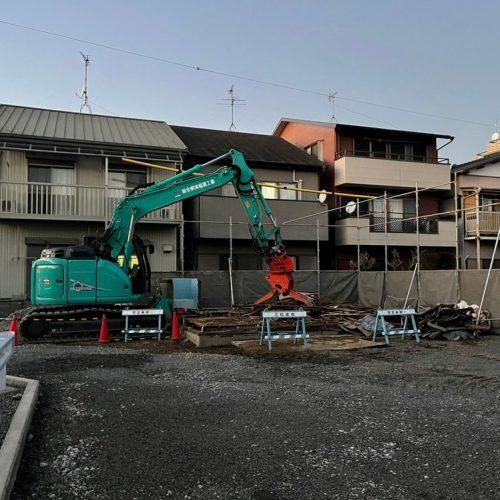 静岡市清水区,木造解体工事