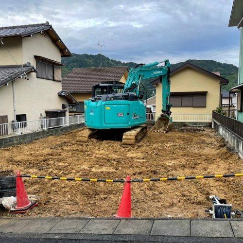 静岡市葵区北,木造2階建解体工事