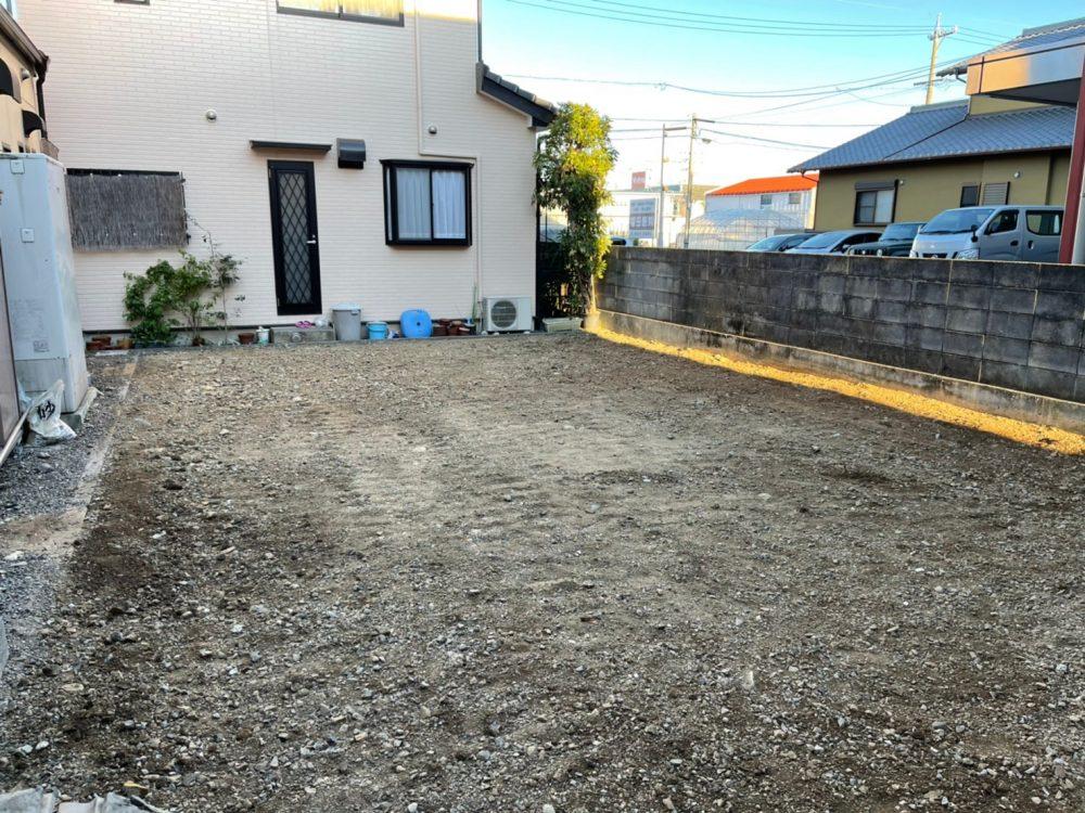 静岡市駿河区 木造解体工事