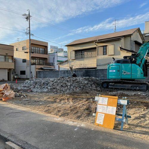 静岡県葵区解体工事木造,鉄骨造