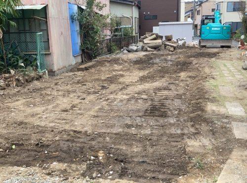 静岡県清水区,蔵の解体工事