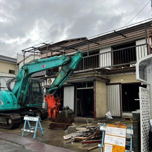 静岡県静岡市葵区,鉄骨・木造解体工事
